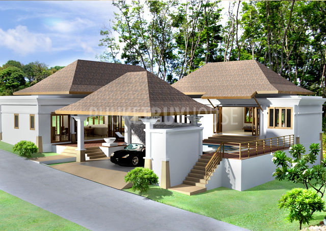 CHA0847: New Development: Thai-Bali Style Pool Villas In