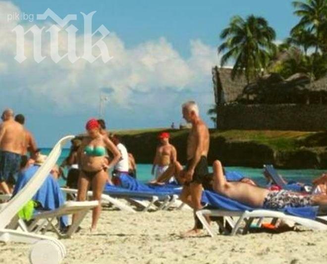 "Суперсензация! Само в ПИК! Ексклузивни кадри на Волен Сидеров от плажа ""Варадеро"" в Куба! (уникални снимки)"