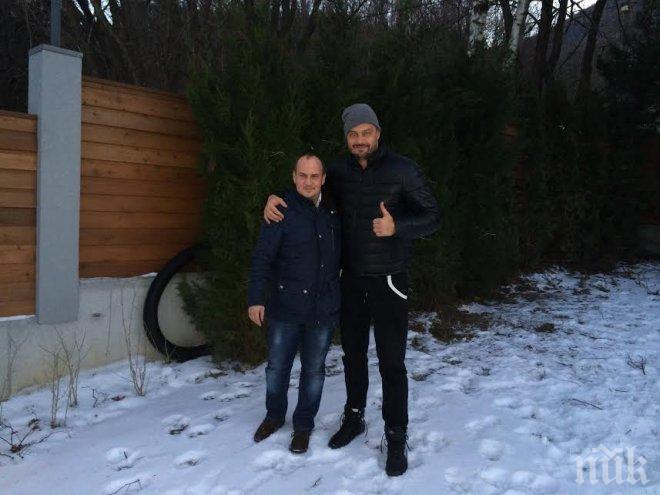 Бареков си направи пикник с депутат (снимка)