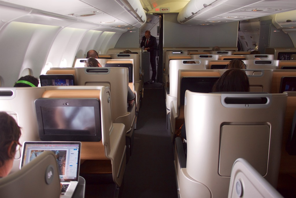 Qantas new A330 Domestic Business Class | Point Hacks