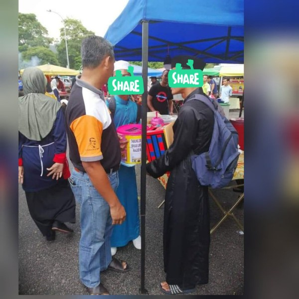 3 - Ini Yg Dijumpai Apabila Operasi Menangkap Pemungut Derma Di Sebuah Pasar Malam, Sungguh Memilukan dan Memalukan