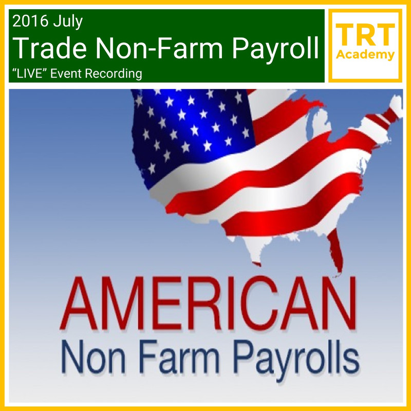 Yes! Send Me the Video – 2016 July Trade Non-Farm Payroll LIVE