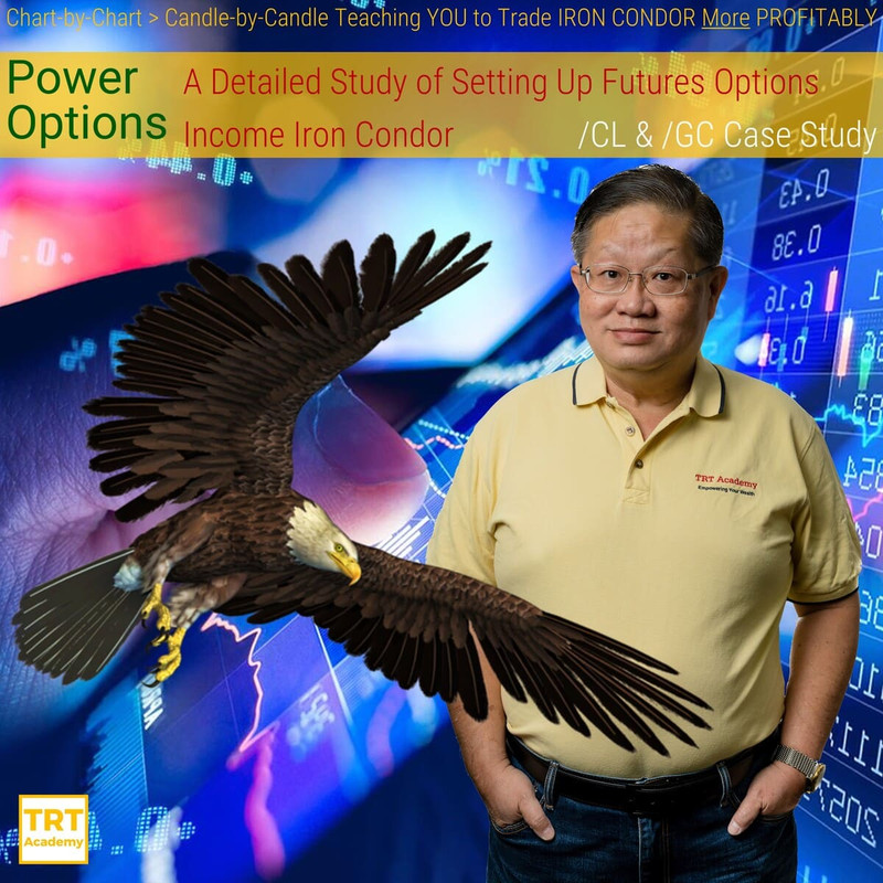 Yes… I Want to Improve My Trading Results – 2019-12 – Power Options – A Detailed Study of Setting Up Futures Options Income Iron Condor – /CL & /GC Case Study