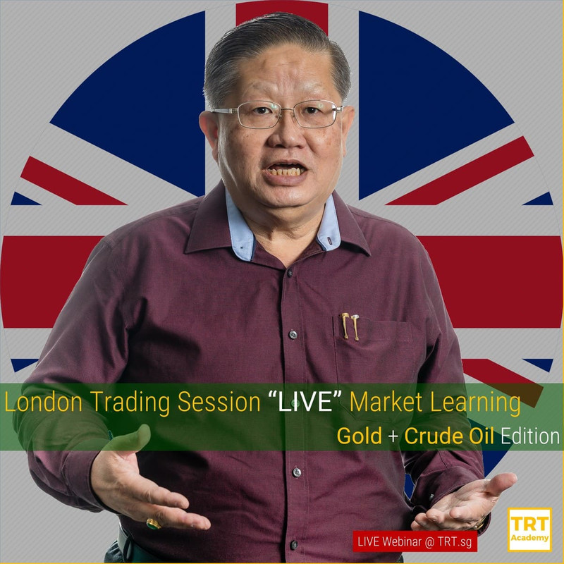 "12 May – [LIVE Webinar @ TRT.sg]  London Trading Session ""LIVE"" Market Learning"