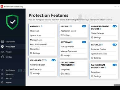 Bitdefender Total Security 2020 version 24.0.6.31 (x86 & x64)