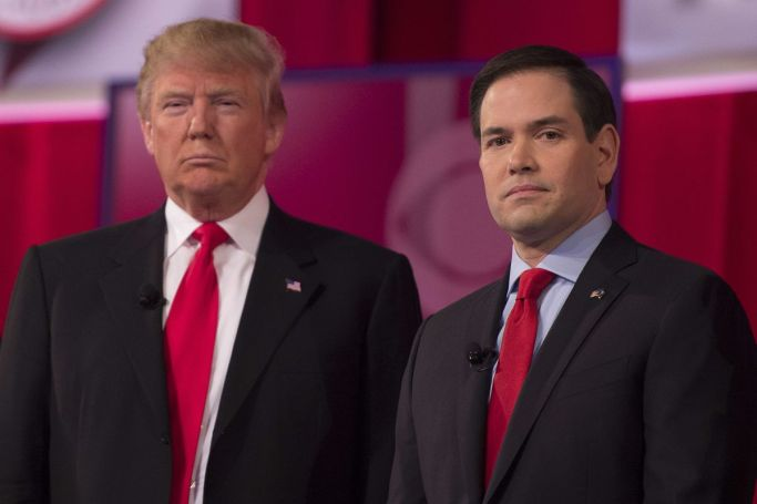 Donald Trump and Marco Rubio