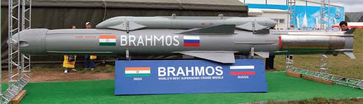 Supersonic BrahMos Cruise Missile