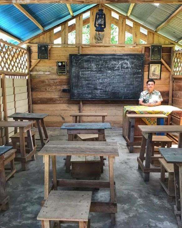 pemandangan kelas tersebut