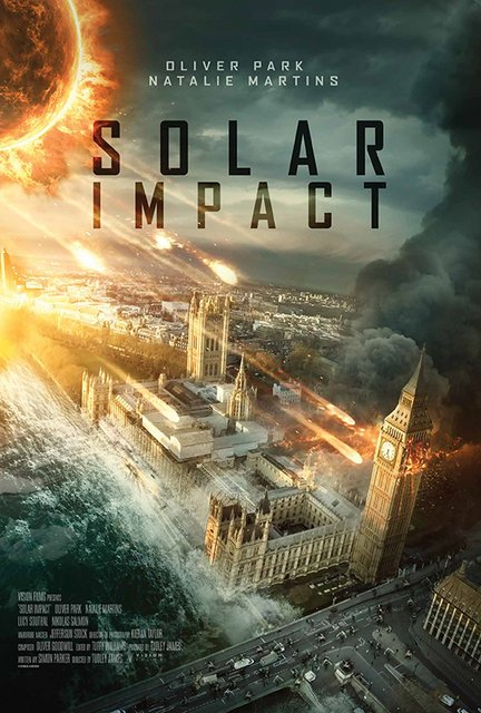 Solar Impact The Destruction Of London 2020 Movie Poster