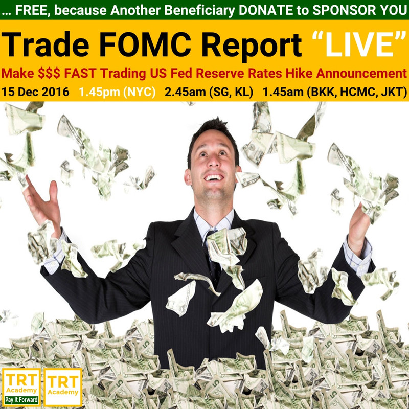 """Yes! Send Me the Video – Trade FOMC Report """"LIVE"""""""