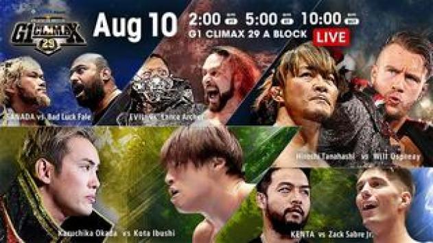 NJPW G1 Climax 29 10 08 2019 Day 17