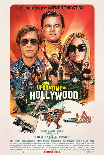 Once Upon a Time in Hollywood 2019 Movie Poster