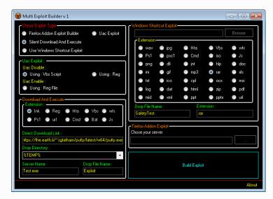 Multi Exploit Builder V1