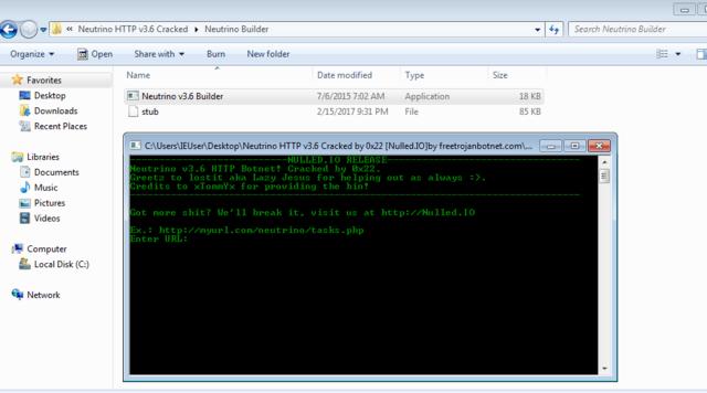 Neutrino v3.9.4 HTTP Botnet | Smart DDoS | Formgrabber | CCGrabber