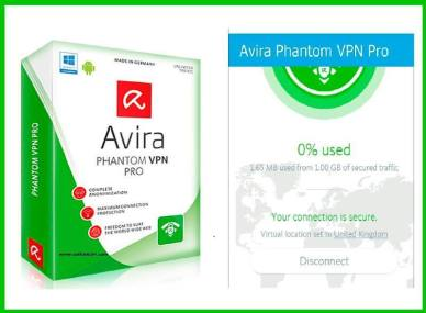 Avira Phantom VPN PRO version 2.34.3.23032 Full