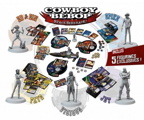 Cowboy Bebop Board Game