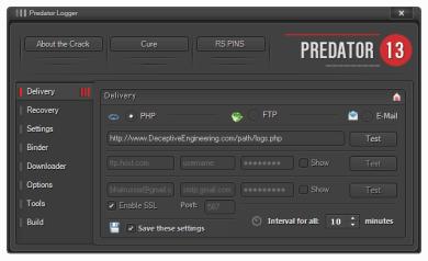 Predator Pain v13 Keylogger + Tutorial