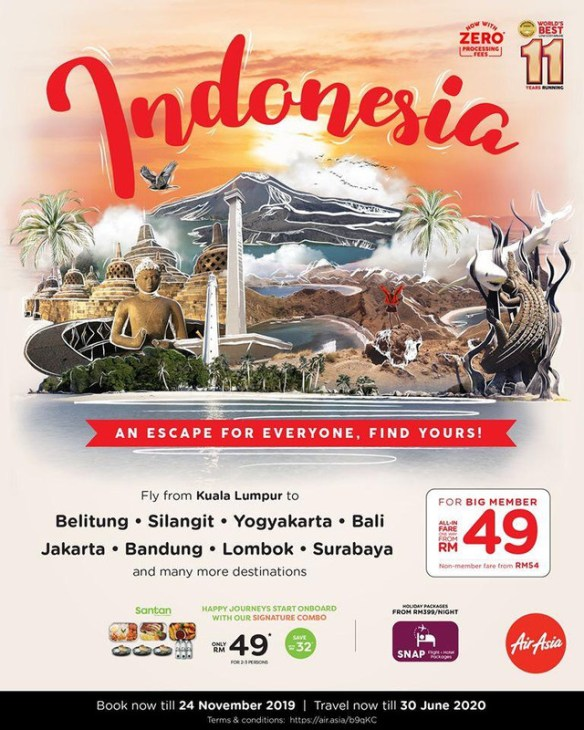 Promosi Air Asia Ke Indonesia