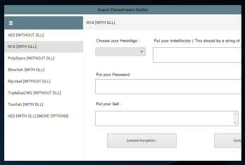 Arsium Ransomware Builder [ONLY DESKTOP] + Tutorial