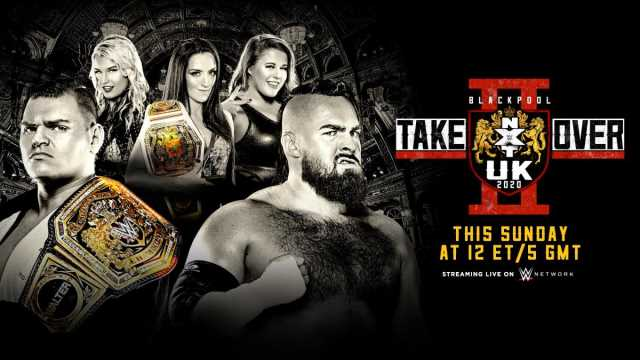WWE NXT UK TakeOver Blackpool