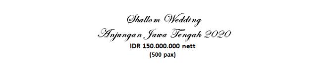 paket pernikahan jakarta lengkap anjungan jawa tengah murah dengan vendor berpengalaman