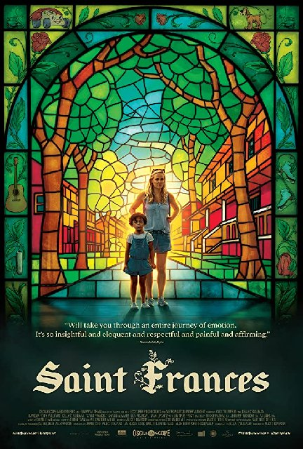 Saint Frances 2019 Movie Poster