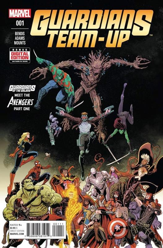 guardians team up vol 1