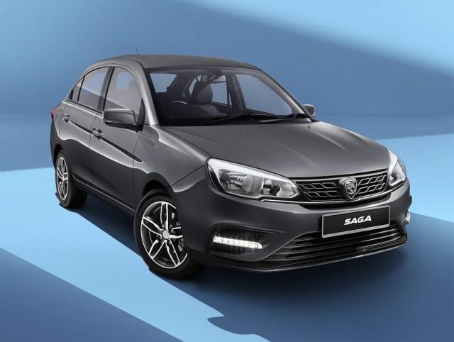 Rekaan luar Proton Saga 2019