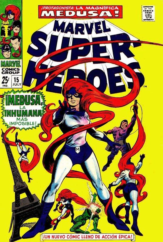marvel super heroes vol 1