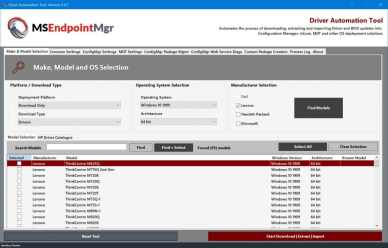 Driver Automation Tool version 6.2