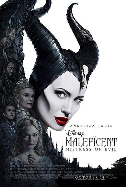 Maleficent Mistress of Evil 2019 Movie Poster