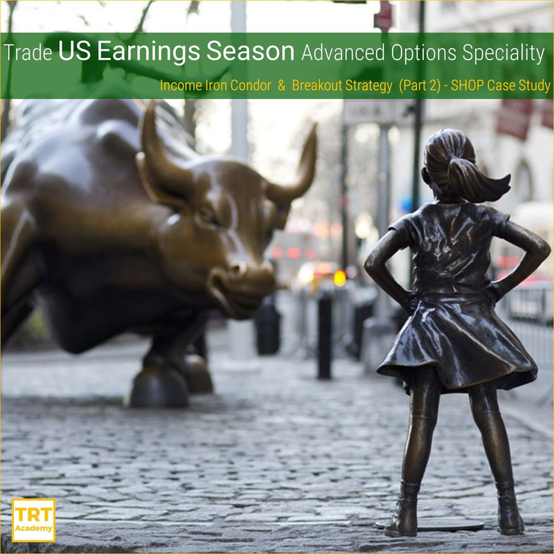 Yes! Send Me the Video – Trade US Earnings Season Advanced Options Speciality – Part 2 – SHOP Case Study