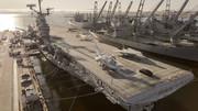Porsche-Taycan-on-USS-Hornet-5