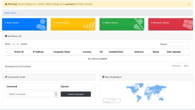 BlackNET v1.0.0  Advanced MultiOS BotNET + Secure PHP Panel + Tutorial