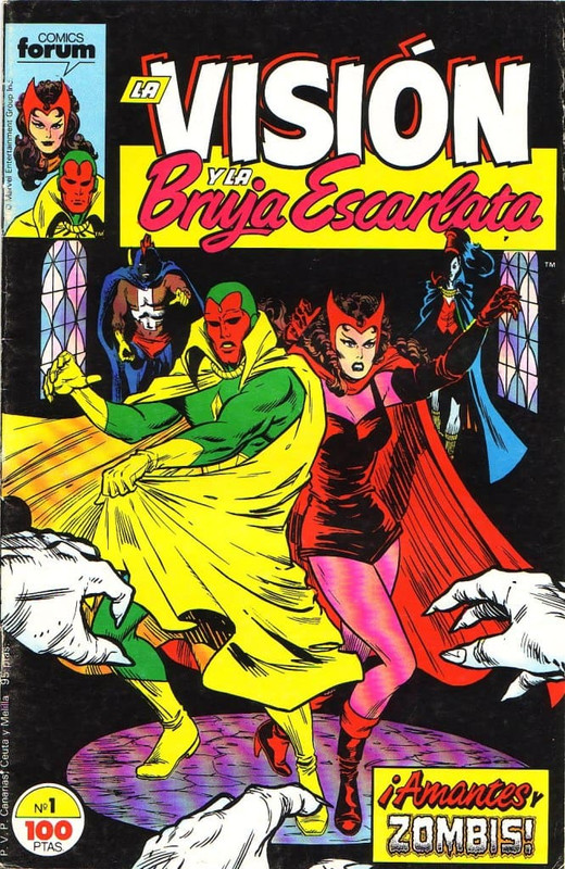 vision Scarlet Witch Volumen 2