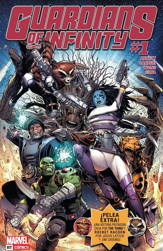 Guardians of Infinity Vol 1 [8/8] Español | Mega