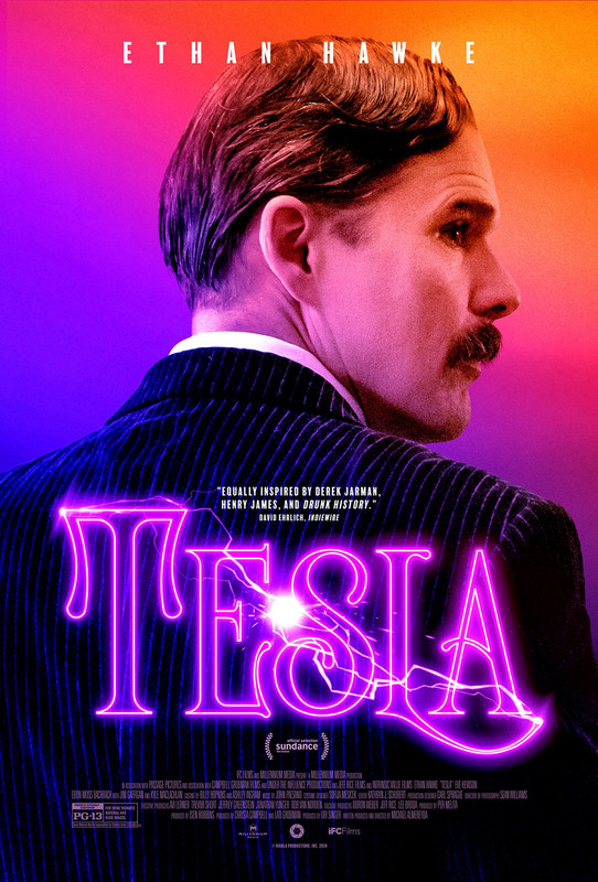 Poster Perdana Tesla