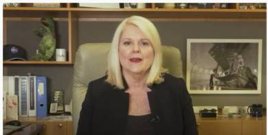 Hon Karen Andrews, Minister for Industry, Science & Technology, Govt of Australia | Photo Credit: Twitter/@blrtechsummit