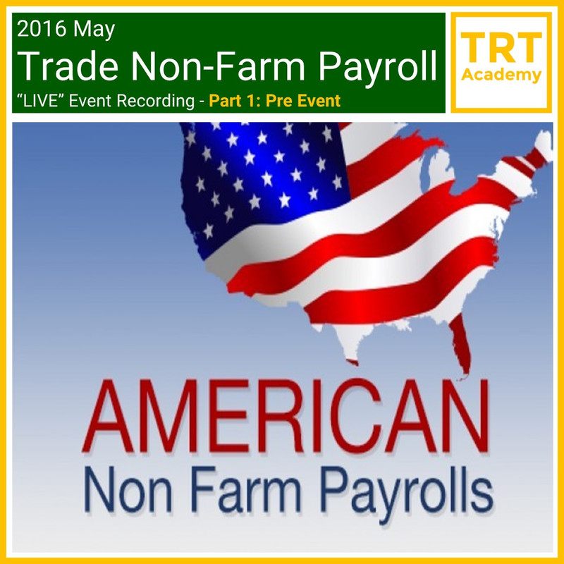 """Yes! Send Me the Video – Trade Non-Farm Payroll """"LIVE"""" Market Learning – Pre Event"""
