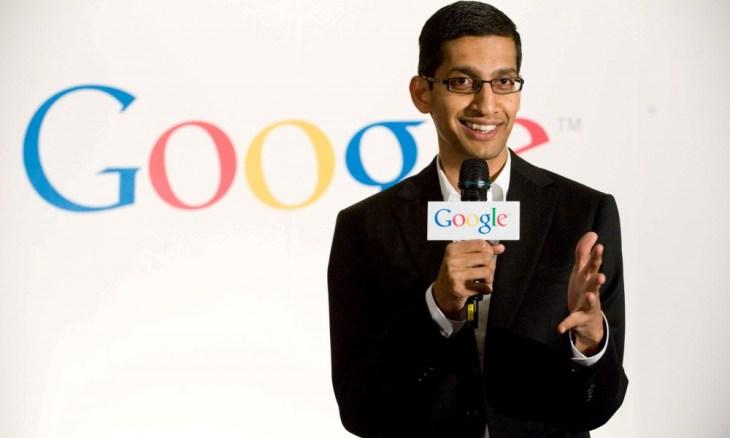 Sundar Pichai in his early days in Google