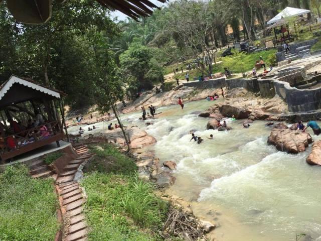 kolam air panas lubuk timah