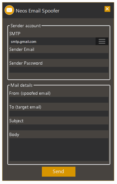 Neos Email Spoofer