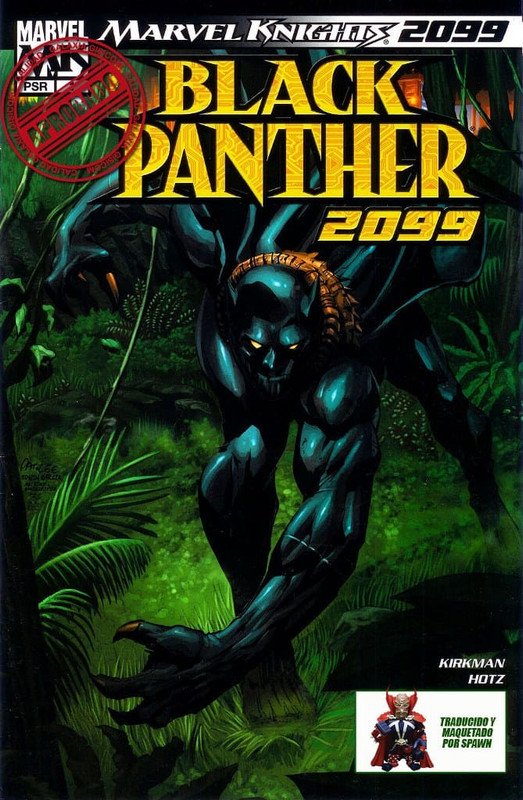 Black Panther 2099 [One Shot] Español