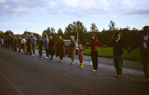 Baltic Chain 1989