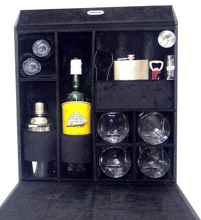 Wooden Travel Bar Set, unique gifts to buy for his birthday