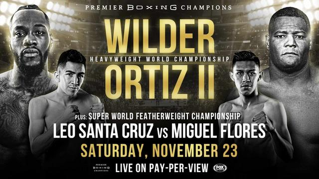 Boxing Wilder vs Ortiz 2