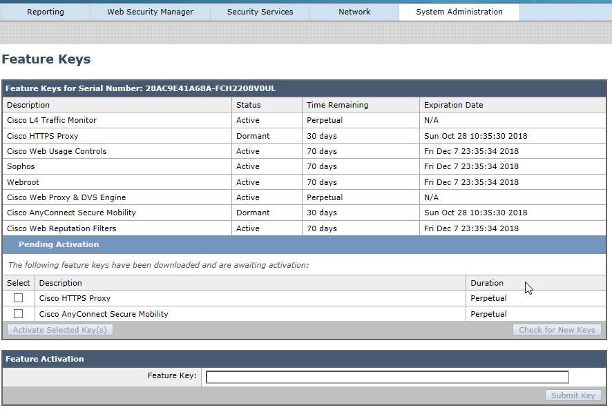 Cisco Web Security Appliance S190 – Web GUI – Cyber Security