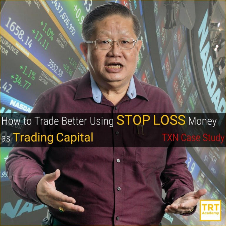 Yes… I Want to Improve My Trading Outcome – 2020 January – How to Trade Better Using STOP LOSS Money as Trading Capital – TXN Case Study