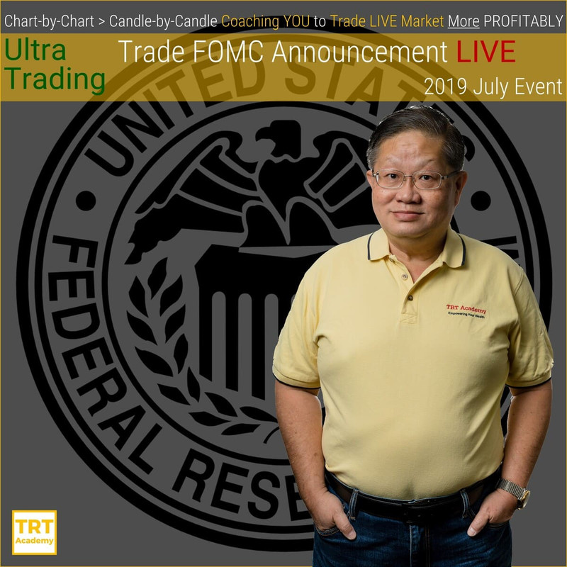 Yes… I Want to Improve My Trading Results – 2019-07 – Ultra Trading – Trade FOMC Announcement LIVE – 2019 July Event