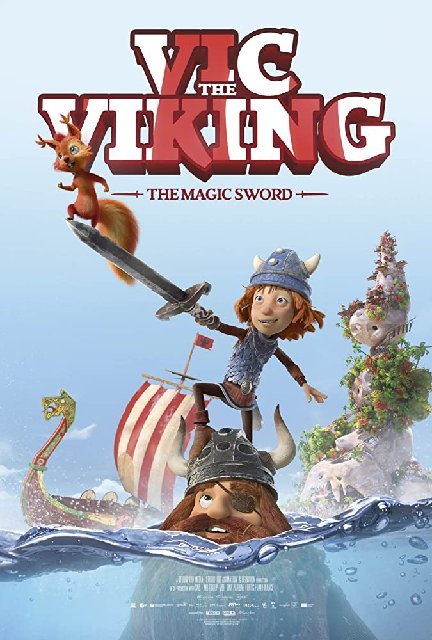 Vic The Viking And The Magic Sword 2019 Movie Poster